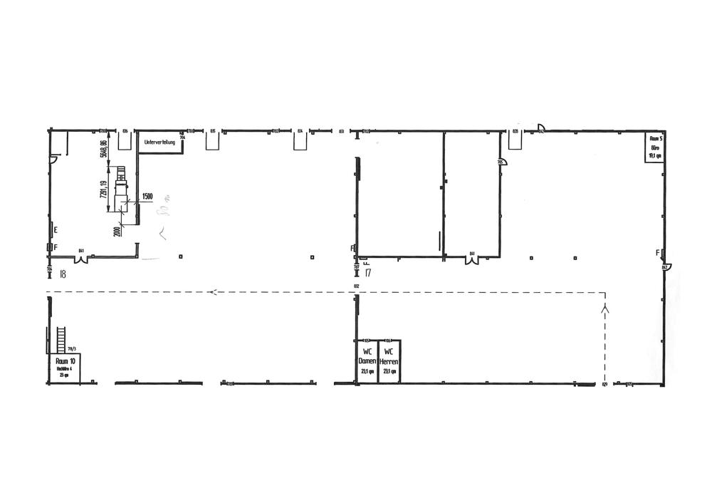 Hallenfläche 40x100 m